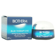 Blue Therapy Eye - Visible Signs of Aging Repair by Biotherm for Unisex - 0.5 oz