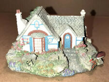 1994 Thomas Kinkade Candle Light Cottages Sculpture #30A Seaside Cottage