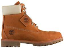 "Men's Timberland 6"" PREMIUM Waterproof Boots, TB0A1OOD H39 Multi Sizes Orange/Go"