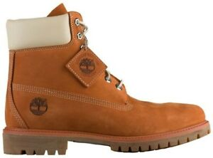 "Men's Timberland 6"" PREMIUM Waterproof Boots, TB0A1OOD H39 Multi Sizes Orange/Go"