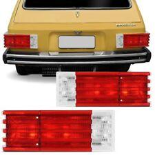 VW Brasilia Variant Complete Rear Tail Light Assembly Full 1pc Red White