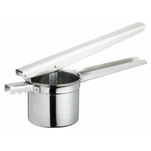 Masterclass Deluxe Stainless Steel Potato Ricer Masher and Juice Press Presser
