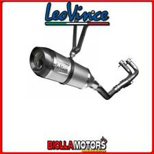 14188SK SCARICO COMPLETO LEOVINCE YAMAHA TMAX ABS/DX/SX 2017- FACTORY S INOX/CAR
