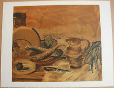 Lithographie André DERAIN Mourlot collection Pierre Lévy nature morte .
