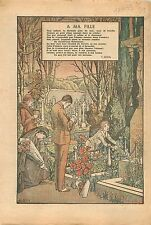 Poème Catholique  ; à ma fille Léopoldine de Victor Hugo France 1933