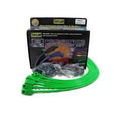 Taylor Spark Plug Wire Set 78547; Spiro Pro 8.0mm Lime Green 6cyl Universal