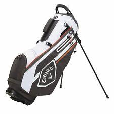 Callaway Golf CHEV Stand Bag Charcoal White Orange 5120564