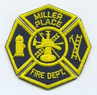 Miller Place Fire Department Patch New York NY v2