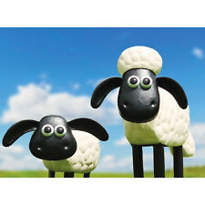 Primus Metal Shaun The Sheep AND Timmy The Sheep Garden Ornament Set Gift Idea