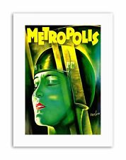 Film Movie 1927 METROPOLIS POSTER FILM VINTAGE STAMPE SU TELA ART