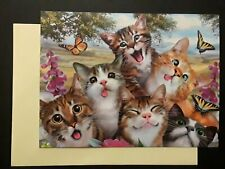 Friendship Funny Cat Card
