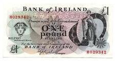 Ireland, Bank of Ireland, una libra nota/£ 1, serie 1983, una J O 'Neill, F/Plus