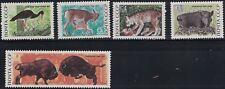 Russia SC3640-3644 BelovezhskayForestReservation-WildAnimals&Bird MNH1969