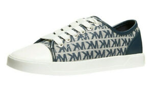 NWOB MICHAEL KORS ~Size 9.5~ MK City MK Logo Sneakers Shoes Lace-up New No Box