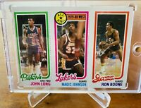 1980-81 TOPPS MAGIC JOHNSON ROOKIE CARD Lakers HOF NRMT/MT PSA BGS Gradable!!