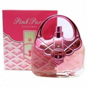 Saffron Fragrance Pink Purse Ladies Perfume 100ML Free Postage - Great Gift