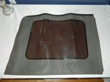 JEEP WRANGLER Tinted Quarter Window Dark Khaki  Right Side 1HD98ZJ8AA OEM