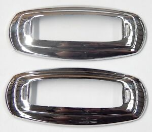 HONDA ACCORD 1994 - 2000 SIDE INDICATOR LIGHT LAMP CHROME SURROUNDS TRIM PAIR
