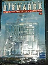 Bausatz - Schlachtschiff Bismarck - Nr.87 - Hachette