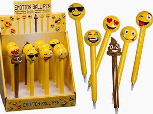 1 Kugelschreiber, Kuli, Emoji Smily Smiley, kackhaufen NEU