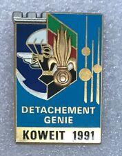Légion : Détachement Génie au KOWEIT 1991
