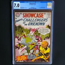 Showcase #11 💥 CGC 7.0 💥 3rd App Challengers of the Unknown! DC Presents 1957