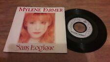 "Rare vinyle 45T - Mylene Farmer ""Sans Logique"" - EX/EX"