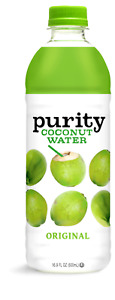 Purity Original Organic Pure Coconut Water 16.9 oz ( Pack of 12 )