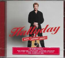 JOHNNY HALLYDAY ALBUM 1 CD *HAPPY BIRTHDAY JOHNNY!*  NEUF SOUS BLISTER
