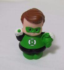 NEW FISHER PRICE LITTLE PEOPLE DC Super Friends GREEN LANTERN Hero Halloween Guy