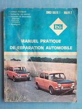 Simca Rallye 1 2 - Manuel pratique de répartion automobile Expert automobile RTA