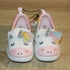 NEW Wonder Nation Infant Toddler Unicorn Shoes Casual Slip On