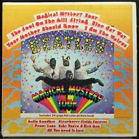 The Beatles Magical Mystery Tour VG+ 1967 Stereo USA Capitol SMAL-2835 Rainbow