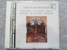 Orgues de Provence - Chapelet, Chapius, Antonini, Saorgin - CD Neu & OVP RARE