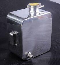 2.5 liquide de refroidissement d'eau vase d'expansion bouteille tête en alliage d'aluminium universel kit voiture