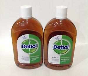 DETTOL Antiseptic Liquid 550ml (Pack Of 2)