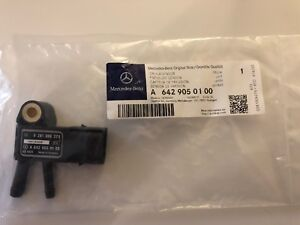 Mercedes-Benz Genuine OEM Differential Pressure Sensor A 6429050100