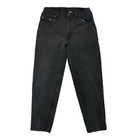 VINTAGE Levi's 560 Loose Tapered Jeans Charcoal Gray 90s Men 32x32 Mid Rise USA