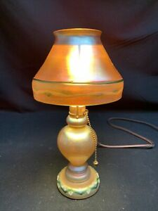 Tiffany Favrile Lamp Art Glasses For Sale Ebay
