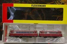 """Fleischmann H0 1405 Schienenbus VT95 mit VB142 der DB """"Wuppertal"""" Sound OVP B99"""
