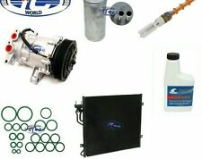 A/C Compressor and Condenser Kit Fits Jeep Liberty 02-05 3.7L OEM SD7H15 67576