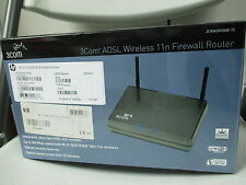 New HP V110 ADSL-B 3com Wireless 3-Com 11n Router 3CRWDR300B-73 JE461A#ABA