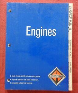 GENUINE NAVISTAR INTERNATIONAL VT 365 DIESEL ENGINE SERVICE REPAIR MANUAL 2004