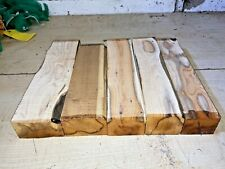 SMALL BOARDS 5PCS LOT 791 YEW WOODTURNING TIMBER BLANK