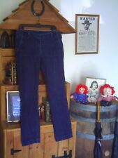 "(F206) ""TROUSER"" Sz. 12 / 31 SLIM STRETCH BLUE JEANS (PRE-OWNED / VGOWC)"