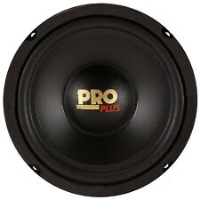 "Pyramid W64 6.5"" 200 Watt Car Audio Midrange/Mid Bass Poly Woofer Speaker"