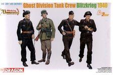 DRAGON 6654 1/35 Ghost Division Tank Crew (Blitzkrieg 1940)
