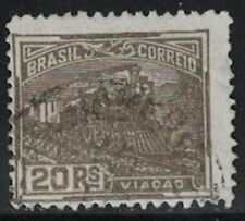 Brazil Old 1924 Used Scott #266 Watermark #190 CV$7.50 F/VF