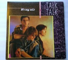 Talk Talk It's My Life Mix Vinyl LP Record Album Synth-Pop New Wave POSTER Italy