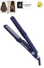 Herstyler Digital Titanium Hair Straightener Flat Iron, Violet